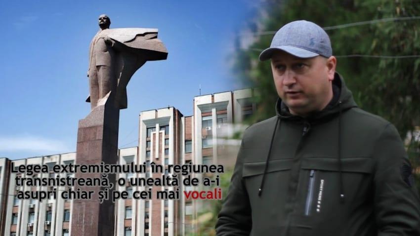 VIDEO. Legea extremismului în regiunea transnistreană, o unealtă de a înlătura opoziția
