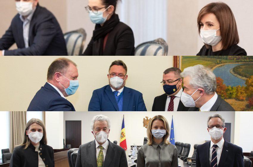 Prima zi din vizita reprezentantul Special al OSCE în Moldova. Ce a discutat cu Sandu, Ciocoi și Cebotari
