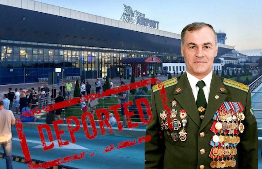 Cine este mercenarulGratov, reținut și deportat spre Moscova, în timp ce încerca să ajungă în regiunea transnistreană că o geantă de medalii