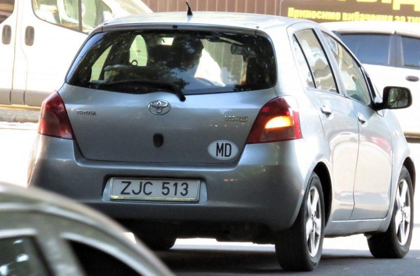 """Doar 36 de mii de șoferi din regiunea transnistreană au obținut permise de model ,,MD"""""""