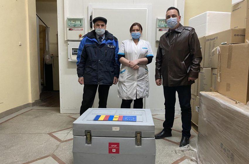 FOTO: Dozele de vaccin, AstraZeneca, au fost transmise în regiunea transnistreană