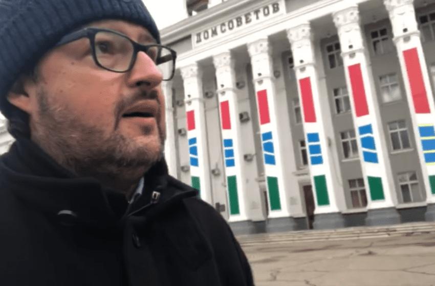 VIDEO. Andrei Popov, impresii din Tiraspol: Dacă nu vorbești rusa ești practic pierdut, drapele ruse absolut peste tot, nu e niciun semn că ești în Moldova