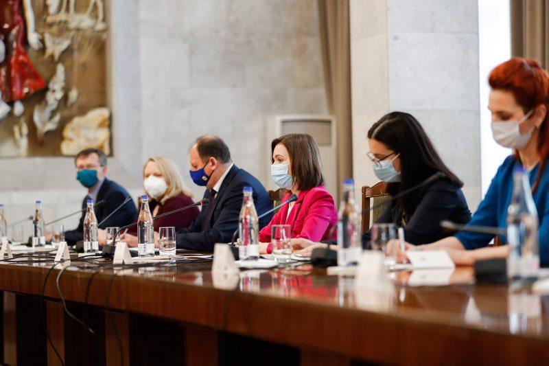 VIDEO. Mediatorii din formatul 3+2, la Chișinău. Maia Sandu: soluționare conflictului trebuie să se regăsească pe agenda unui guvern instalat după alegeri