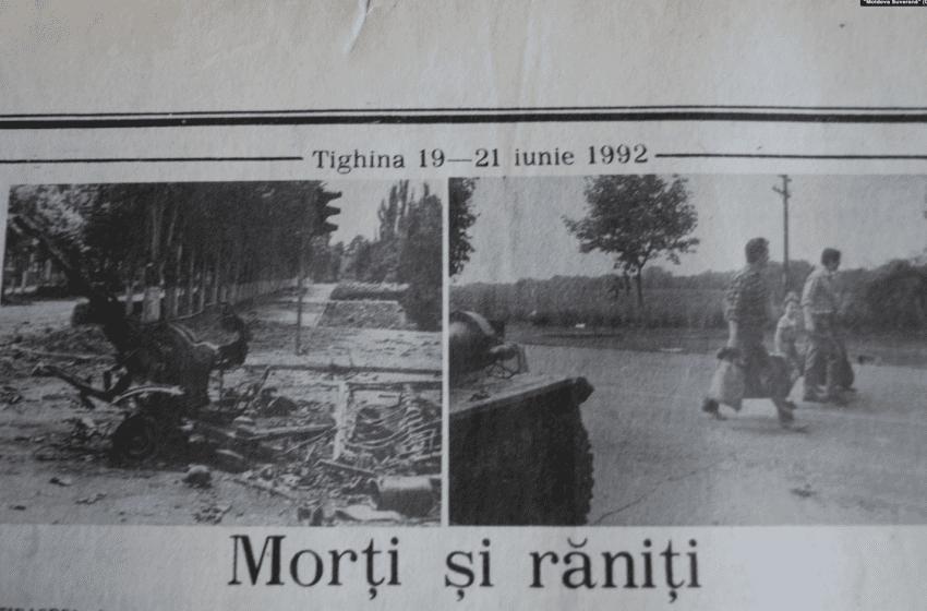 """Invazia Federației Ruse în Tighina: 19-22 iunie 1992. """"Luptăm cu Rusia, oameni buni! Nu cu cei din Transnistria"""""""