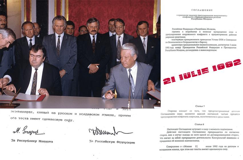 INFOGRAFIC: Acordul de încetare a focului din 1992, ce am semnat și cu ce ne-am ales