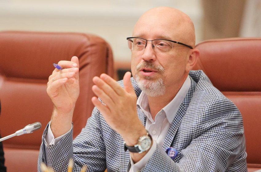 Oleksii Reznikov, ministrul pentru reintegrarea teritoriilor temporar ocupate ale Ucrainei, vine la Chișinău