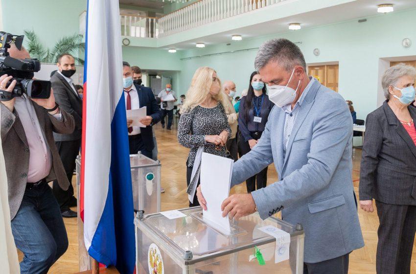 Câți ruși din stânga Nistrului au votat pentru Duma de stat. Krasnoselski are și el pașaport rus