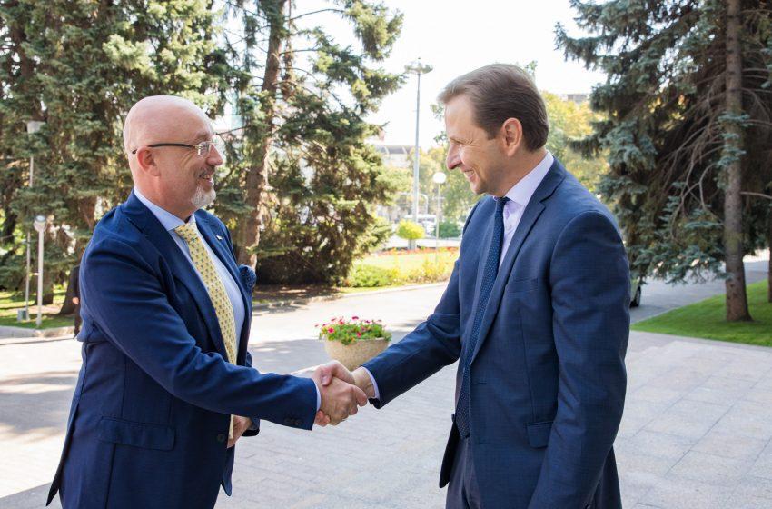 Avansarea controlului în comun pe frontiera de stat pe segmentul transnistrean, subiect cheie a vizitei ministrului Ucrainei pentru teritoriile temporar ocupate la Chișinău