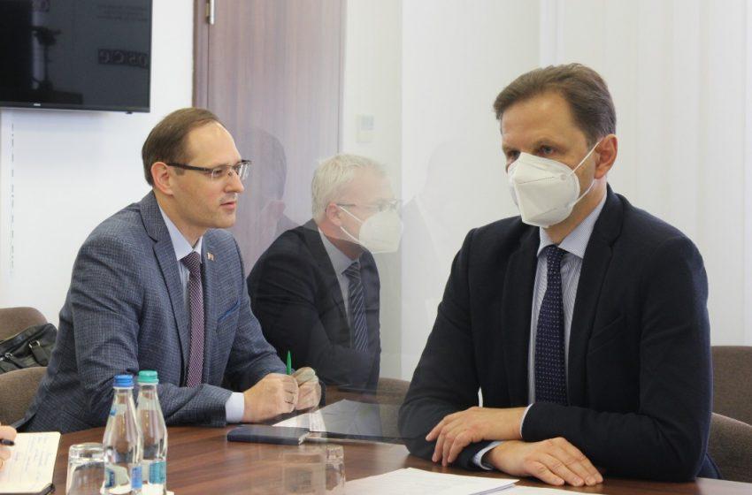 """Vladislav Kulminski neagă informațiile apărute în spațiul public precum că ar fi cerut Tiraspolului să se implice în criza de gaze. """"Este o prostie absolută"""""""